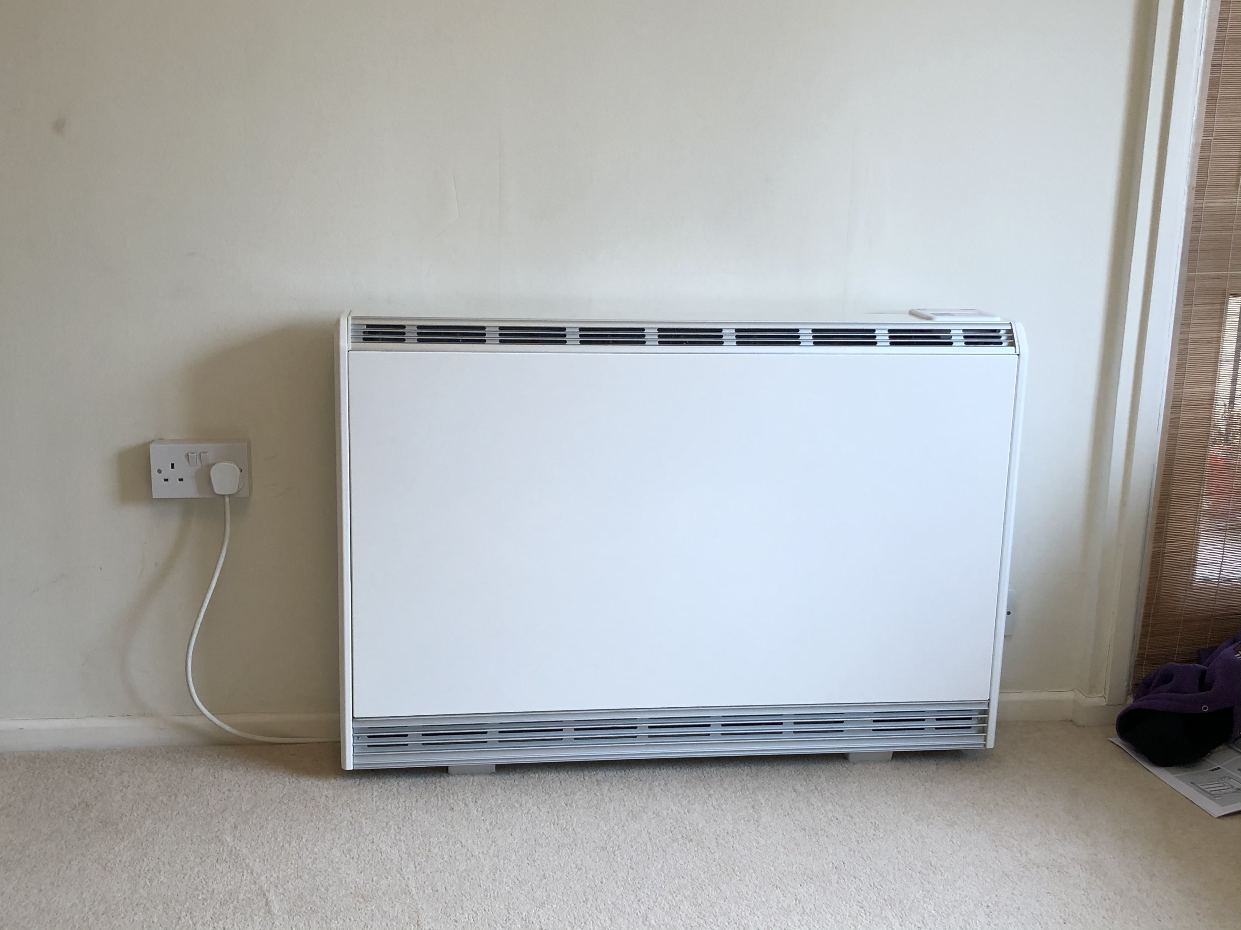 After Upgraded storage heater loughton
