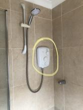 Before shower replacement Loughton